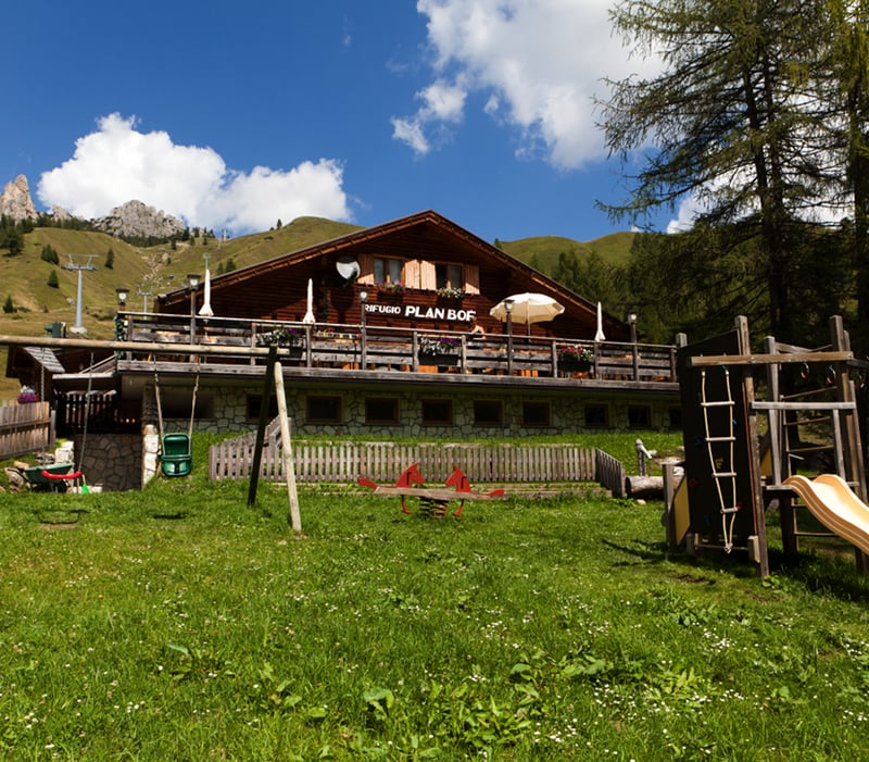 Berghütte Plan Boè