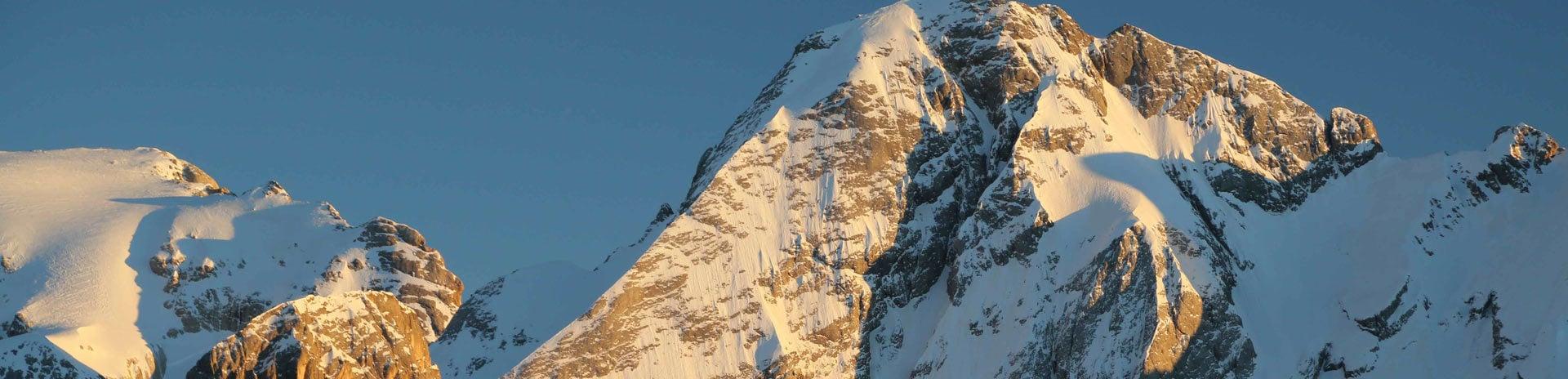 Die Berge, die Sie immer geträumt haben
