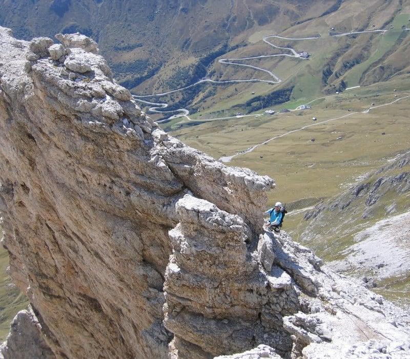 Klettersteig Cesare Piazzetta