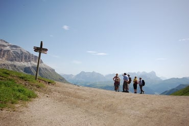 Passo Padon Tour