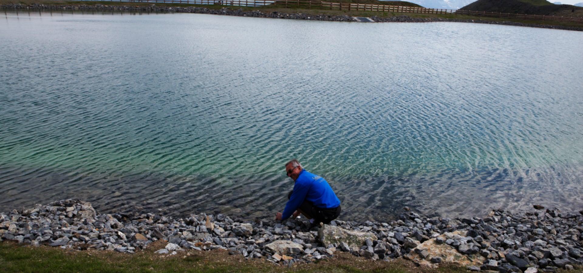 Lake of Col Vesco