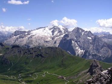 Die Marmolada/Königin der Dolomiten