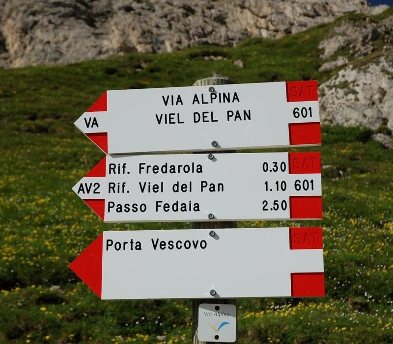 Sentiero storico Viel Dal Pan