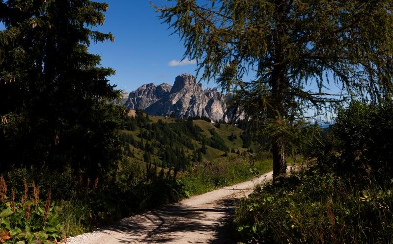Passo Campolongo - Cherz Plateau