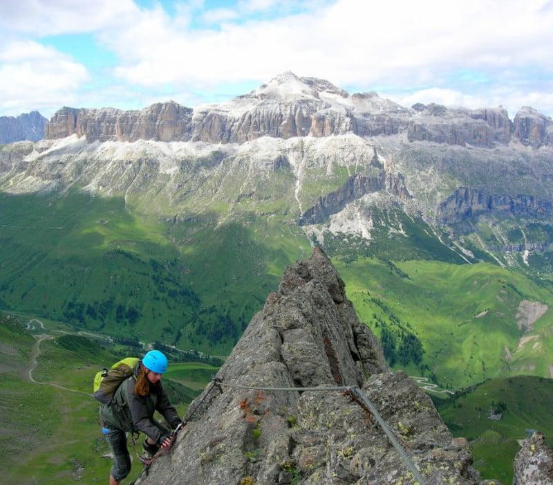 """Klettersteig """"Delle Trincee"""""""